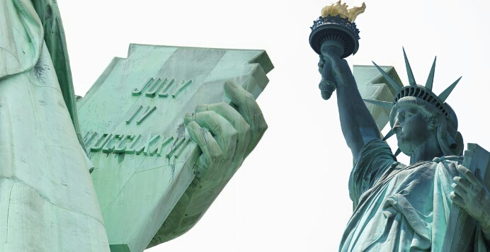 statue of liberty in hindi